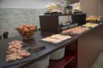 scelta di salumi buffet colazione hotel